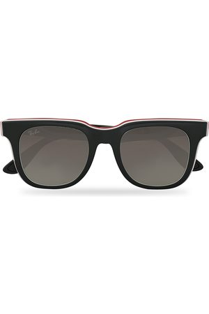 Ray-Ban Mænd Solbriller - RB4368 3-Layered Sunglasses Black/White/Red