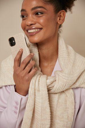 NA-KD Accessories Kvinder Mobil Covers - Croc Phone Case