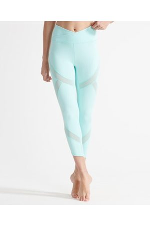 Superdry Sport Flex leggings med mesh
