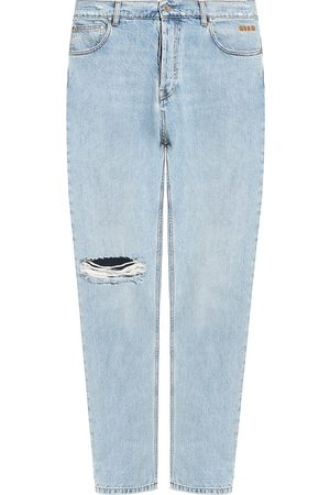 Msgm Mænd Straight - Stonewashed jeans