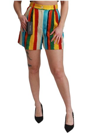 Dolce & Gabbana Kvinder Shorts - Riga Pittorica Mini Shorts