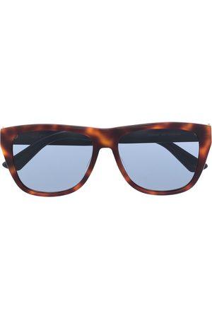 Gucci Eyewear Solbriller med skildpaddeskjoldeffekt og D-stel