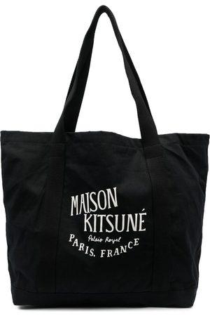 Maison Kitsuné Stofposer - Shopper-taske med logotryk