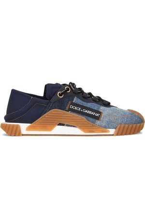 Dolce & Gabbana Ns1 slip-on-sneakers i denim