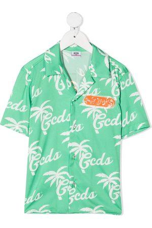Gcds Kids Kortærmet skjorte med logotryk