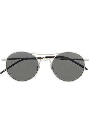 Saint Laurent Eyewear Mænd Solbriller - SL 421 solbriller med rundt stel