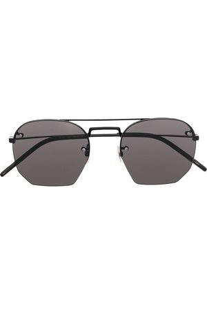 Saint Laurent Eyewear SL 422 solbriller med sekskantede linse
