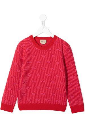 Gucci Kids Drenge Strik - GG-trøje i jacquard