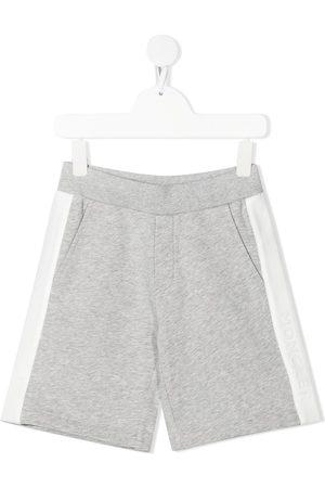 Moncler Enfant Side stripe track shorts