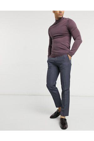 Burton Menswear Elegante bukser i marineblå i slim fit