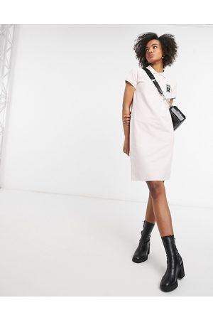 adidas Kocktail - Pique polokjole i hvid-Lyserød