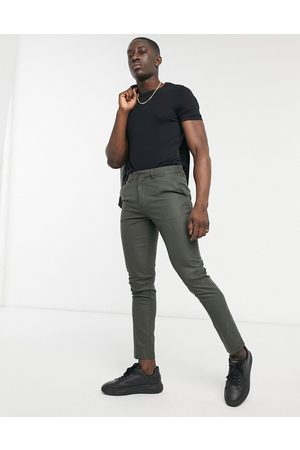 adidas Skinny-habitbukser i skovgrøn