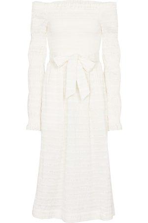 adidas Kvinder Midikjoler - Jame off-shoulder midi dress