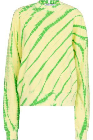 adidas White Label tie-dye cotton sweatshirt