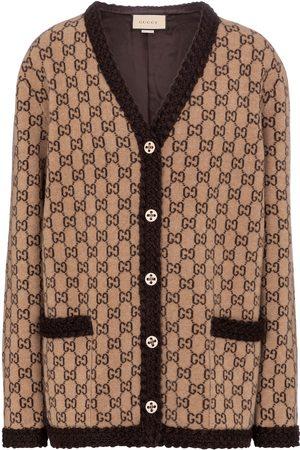 adidas GG jacquard wool cardigan