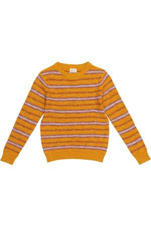 adidas Drenge Strik - Nomad cotton-blend sweater