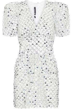 adidas Kvinder Midikjoler - Alma metallic midi dress