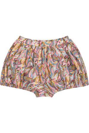adidas Kvinder Mønstrede nederdele - Jungle printed cotton shorts