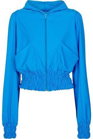 adidas Exclusive to Mytheresa – Smocked hooded track jacket