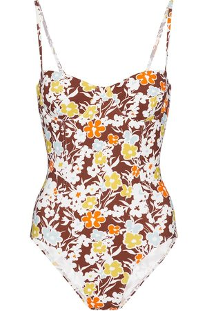 adidas Floral swimsuit