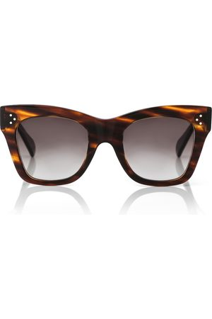 adidas Cat-eye acetate sunglasses