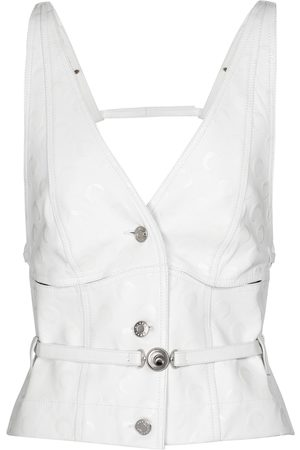 adidas Exclusive to Mytheresa – Embossed leather vest