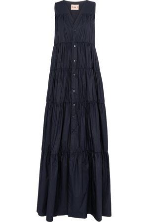 adidas Sleeveless cotton maxi dress