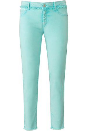 adidas Ankellange Slim Fit-jeans Fra turkis