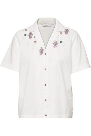 Numph Kvinder Kortærmede - Nuclove Shirt Ss Kortærmet Skjorte