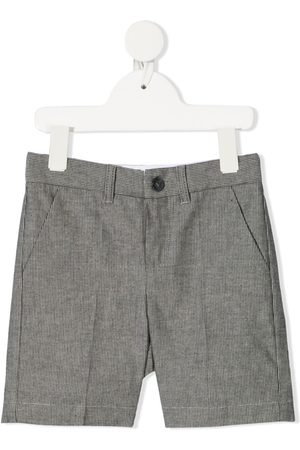 BONPOINT Stribede Calvin shorts med mellemhøj talje