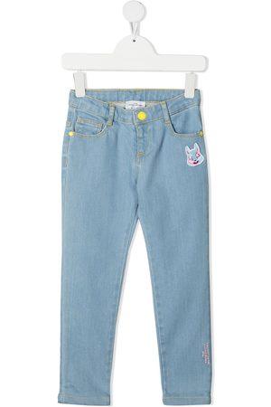 The Marc Jacobs Skinny-jeans med kaninbroderi
