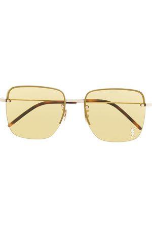 Saint Laurent SL31 square-frame tinted sunglasses