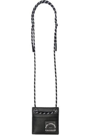 Karl Lagerfeld Pung med logotryk og halsstrop
