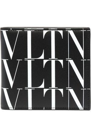 VALENTINO GARAVANI Mænd Punge - Times foldepung med VLTN-tryk