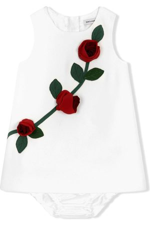Dolce & Gabbana Tanktop med roseapplikation