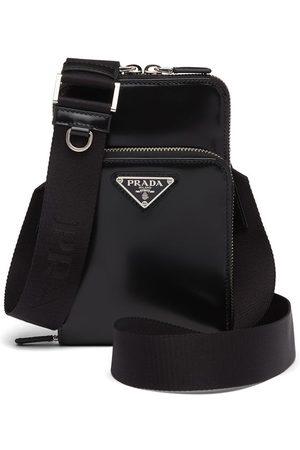 Prada Smartphone cover i børstet læder