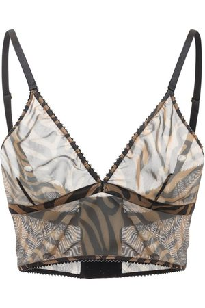 Underprotection Rania Tiger Print Bralette