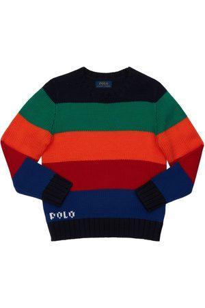 Ralph Lauren Cotton Blend Knit Sweater