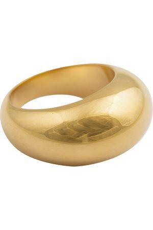 syster P Kvinder Ringe - Bolded Big Ring Gold Ring Smykker