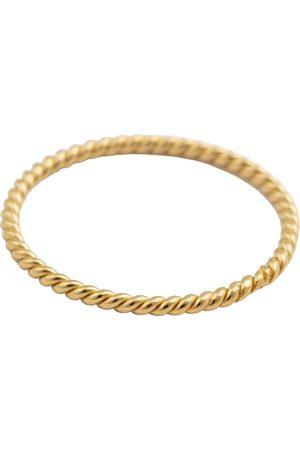 syster P Kvinder Ringe - Tiny Twisted Ring Gold Ring Smykker