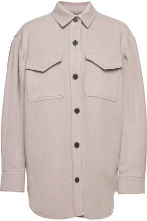 Designers Remix Kvinder Vinterfrakker - Carpi Shirt Coat Overshirts