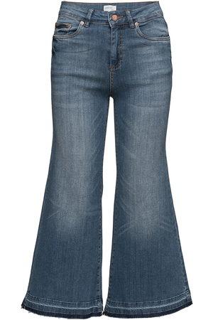 Gestuz Kvinder Culottes bukser - Trina Culotte Ze3 16 Jeans Med Svaj