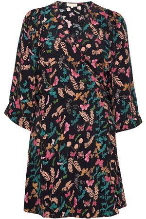 by Ti Mo Pre Spring Kimono Dress Kort Kjole Multi/mønstret