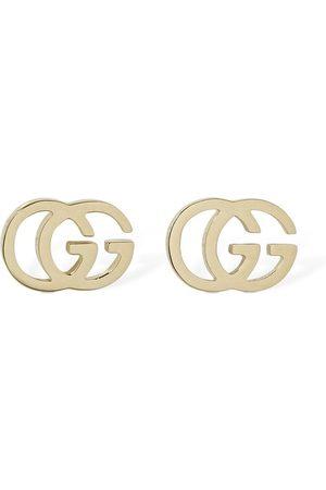 Gucci 18kt Gg Tissue Stud Earrings