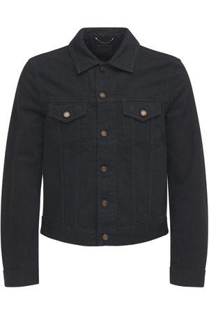 Saint Laurent Fitted Cotton Denim Jacket