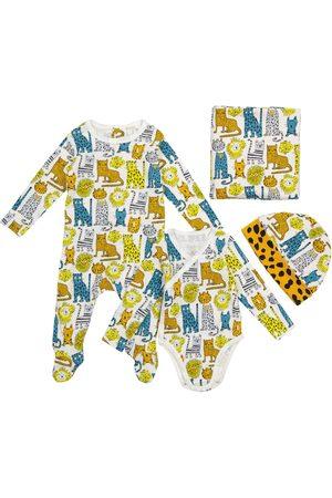 Stella McCartney Baby set of onesie, romper, hat and blanket