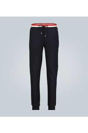 Moncler Tapered cotton sweatpants