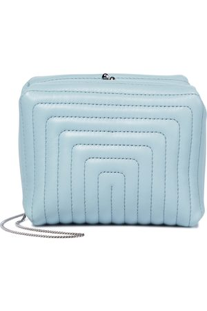 Jil Sander Quilted nappa leather clutch