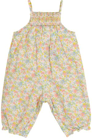 BONPOINT Baby Lilisy Liberty floral cotton jumpsuit