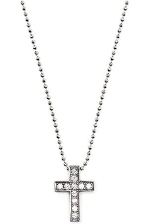 Dsquared2 Mænd Halskæder - Crystal cross necklace